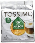 TASSIMO NABOB Latte Coffee , 8 Espresso T-Discs & 8 Milk T-Discs
