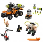 THE LEGO BATMAN MOVIE Bane Toxic Truck Attack Building Toy