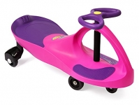 The Original PlasmaCar® by PlaSmart – Pink/Purple – Ride On Toy, Ages 3 yrs and Up, No batteries, gears, or pedals, Twist, Turn