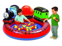 Thomas & Friends Playland with 50 Soft-Flex Balls Inflatable Pit