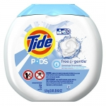 Tide PODS Free & Gentle, Unscented, 72 Count