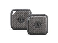 Tile Sport – Key Finder. Phone Finder. Anything Finder (Graphite) – 2-Pack