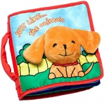 ToBeReadyForLife CLOTH BOOK Baby Gift, Soft Books for Newborn Babies, 1 Year Old & Toddler