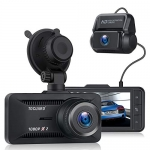TOGUARD 1080P Dual Dash Cam Front and Rear