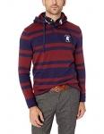Tommy Hilfiger Mens Standard Leonard Long Sleeve Rugby Stripe Sweatshirt