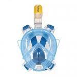 TOMSHOO Adult Easy Swimming Diving Snorkel Mask 180° Panoramic Full Face Design