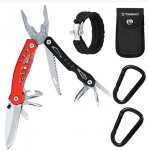 TOMSHOO Multitool Knife- Portable Pocket Outdoor Tools