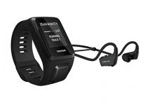 TomTom Spark 3 Cardio + Music GPS Fitness Watch + Heart Rate Monitor + Bluetooth Headphones