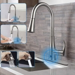 Soosi Touchless Kitchen Faucet with Pull Down Sprayer