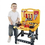 Toy Choi's 82 Piece Toy Workbench for Toddlers