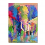 Trademark Fine Art Elephant by Richard Wallich