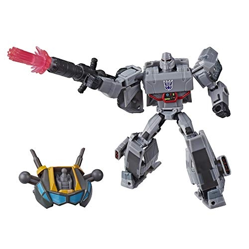 Transformers Toys Cyberverse Deluxe Class Megatron Action Figure