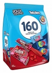 Twizzlers and Jolly Rancher Misfit Gummies 160ct Gummy Candy, 1.9 Kg