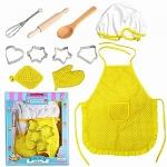 UBANTE Kids Cooking and Baking Set