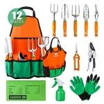 12 Piece Gardening Tool Set