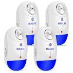 Ultrasonic Plug-in Pest Repellent, 4-Pack
