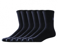 Under Armour Men's Charged Cotton Crew Socks (Pack of 6)