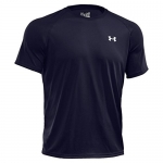 Under Armour Men's Tech Short Sleeve T-Shirt, Midnight Navy/White, X-Large