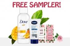 Free Unilever Beauty Sample Box