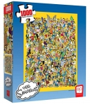 USAOPOLY The Simpsons Cast of Thousands 1000-Piece Puzzle