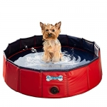 V-HANVER Foldable Dog Pool Hard Plastic, Small