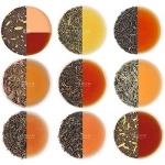 VAHDAM Assorted Loose Leaf Tea Sampler – 10 Teas, 50 Servings