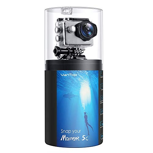 Get 60% Off VanTop Moment 5C Native 4K  WiFi Action Camera