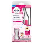 Veet, Ladies Sensitive Precision Electric Beauty Styler/Trimmer/Grooming Kit, 1 Count