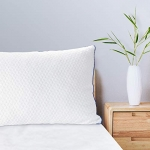 Viewstar Shredded Memory Foam Pillow Adjustable, Queen Size