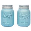 Vintage Mason Jar Salt & Pepper Shakers