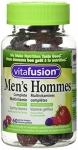 Vitafusion Men's Complete Gummy Multivitamins, 60 count