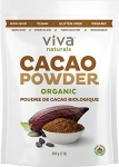 Viva Naturals Organic Non-GMO Cacao Powder, 1 Pound Bag