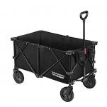 VIVOSUN Collapsible Garden Utility Cart with Storage Bag