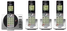 VTech DECT 6.0 Four Handset Cordless Phones