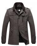 Wantdo Men's Wool Blend Jacket