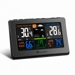 Houzetek Wireless Atomic Digital Color Weather Station
