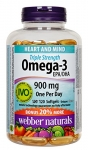 Webber Naturals Triple Strength Omega-3, 900 Mg, 120 count