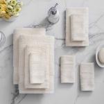 Welhome 100% Cotton Towel – Set of 8
