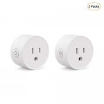 Wi-Fi Enabled Smart Plug 2-Pack Koogeek Compatible with Alexa and Google Assistant Remote Control Voice Control Timer No Hub Required