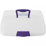 Wilton Cupcake or Tray Bake Carrier with Reversible Insert