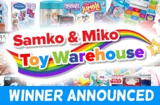 Samko & Miko Toy Bundle Giveaway Winner
