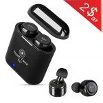 DEFONG True Wireless Earbuds with Portable Charging Case