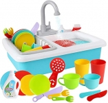 Wishtime Wash-Up Kitchen Sink Toy with Running Water