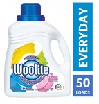Woolite Everyday, Laundry Detergent, Mega Value Pack, 2.96 L, With Colour Renew