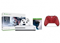 Xbox One S 1TB Console – Star Wars Jedi: Fallen Order + Red Xbox One Controller