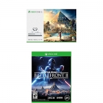Xbox One S 500GB Assassins Creed Origins Bundle + Star Wars Battlefront 2