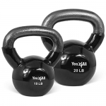 Yes4All Combo Special: Vinyl Coated Kettlebell Weight Sets