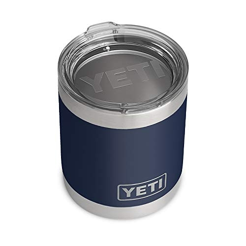 YETI Rambler 10 oz Lowball with Standard Lid, Navy