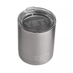 YETI Rambler 10 oz Lowball, Stainless Steel with Standard Lid
