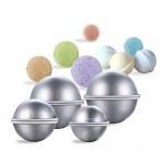 Zehui Your Own Fizzles DIY Metal Bath Bomb Mold Set with 3 Sizes Aluminum Alloy Bomb Balls Molds